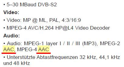 AAC Triax S-26 DVB-S2