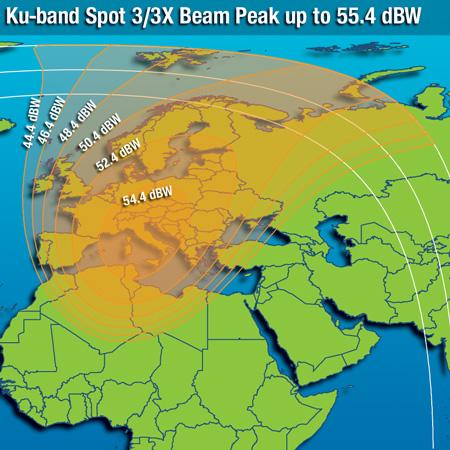 Mapa cobertura Spot 3 Intelsat 10-02