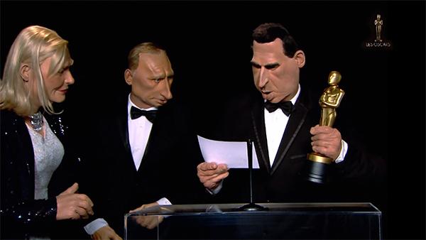 Canal Plus - Les Guignols - Parodie Oscars