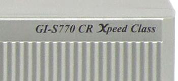 Golden Interstar GI-S770 CR détail modèle panneau avant