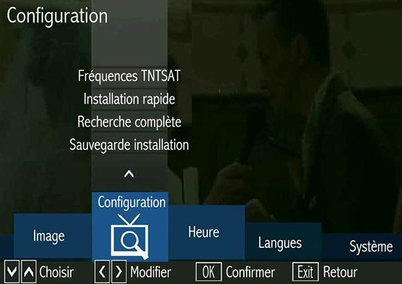 Triax THR 9910 TNT Sat, recherche complète.
