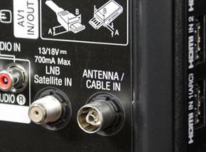 téléviseur avec tuner satellite intégré