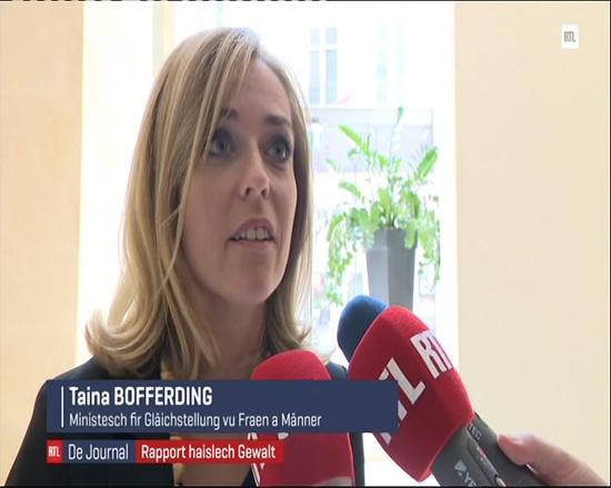 RTL Télé Lëtzebuerg - Taina Bofferding