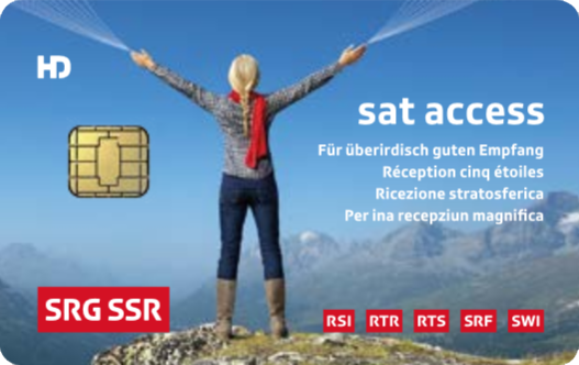 carte Sat Access HD