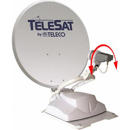 Réglage polarisation antenne automatique Teleco