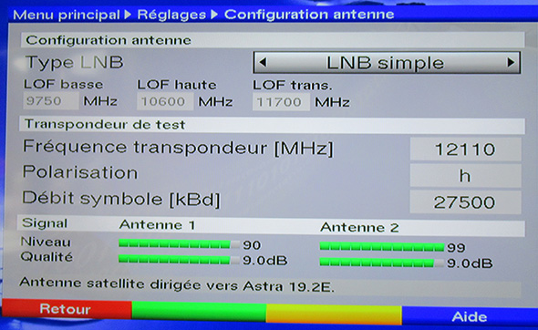 TP Test Astra 12110 H