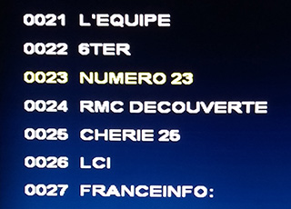 TNT Sat - French FTV Satellite Television