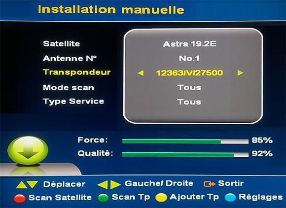 TP 12363 V signal
